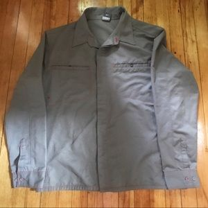 90s Nike ACG Dry-Fit Grey Button Down Shirt